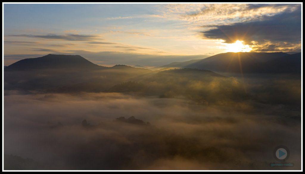 Sunrise Over Johnson County, TN
